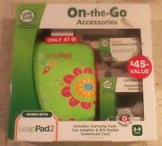 Leapfrog Leappad 2 Accessories On-the-go Bundle Flower Case