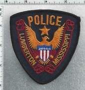 Lumberton Police Mississippi 2nd Issue Shoulder Patch