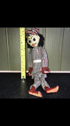 Vintage Very Old Rare Puppet Marionette Doll / Folk Art Puppet - Pottery