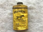 Bickmore Powder For Horses Vintage Tin, Old Town, Maine