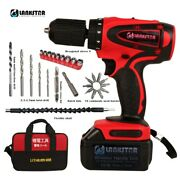 Multifunction 36v Lithium Hand Drill Rechargeable High Power Commercial Home Diy