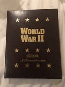 Zippo Gify Set Ww2 4 Lighters And Keychain With Emblem Limited Edition