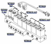 Manifold Assembly 8 Stn Replacement Oem Part Oem Part Not Available Mta0