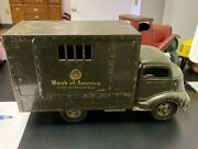 Antique Smith-miller Gmc Coe Cab Private Label Bank Of America Armored Truck