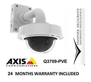 Axis Q3709-pve 180 Pana View Ptz Zoom Ip Network Camera Ip 66 Rated Hd 4k Cctv