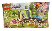 Lego Friends Miaand039s Horse Trailer Building Toy Complete Set 41371 Kidand039s Best Gift