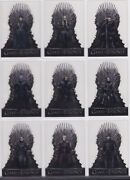 Game Of Thrones Season 8, Complete Acetate Chase Card Set T1-20
