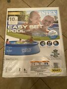 """Intex 10' X 30"""" Quick Set Easy Above Ground Pool New With Filter Pump Ships Fast"""
