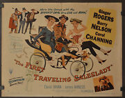 The First Traveling Saleslady 1956 Original 22x28 Movie Poster Clint Eastwood