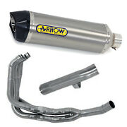 Full Exhaust Arrow For Suzuki Gsf 1250 Bandit / S 2007 2016 Race-tech T. Carby
