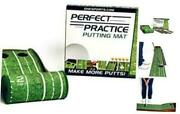 Perfect Practic Putting Mat Indoor And Outdoor Golf Putting Mat W/ Auto