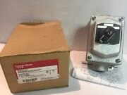 Eaton Crouse-hinds Edsc31271 Explosion-proof Selector Switch 2 Position Lever
