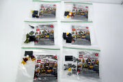 Bundle Lot B - Lego 71000 Series 9 Minifigures New-other Opened For Photos Only