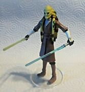 Star Wars Kit Fisto Clone Wars Collection Cw23 Jedi Master Council Loose