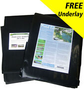 Pond Liner Special Offer 40yr Life With Free Underlay And Free Delivery.