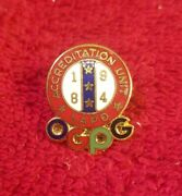 Los Angeles Police Dept Lapd Olympic Hat Lapel Pin 1984 Accreditation Unit Ogpg