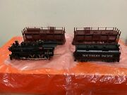 Psc Brass Sp Fire Train T-1 Class 4-6-0 With Two Water Cars Psc 15438