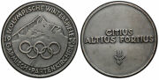 Germany 3rd Reich. 1936 Winter Olympics Silvered Bronze Medal. Pcgs Sp63