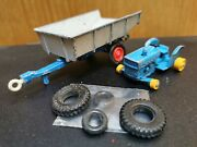 Vintage - Tractor And Trailer - Matchbox - Lesney - Good Condition - Used