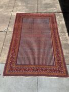 Antique Khamseh Rug - 4and039 X 6and039 3