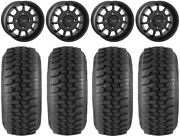 System 3 St-5 Black 15 Wheels 32 Ds Soft Tires Pioneer 1000 / Talon