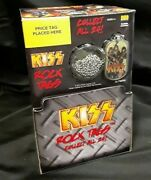 Kiss Rock Tags 2010 Dog Tags And Sticker Packs 36 Packs Full Box New Sealed