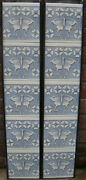 Arts And Crafts Butterfly Fireplace Tiles Set 10 Tiles