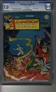 All American Comics 1939 92 - Cgc 7.0 Ow/white Pages - Icicle Appearance