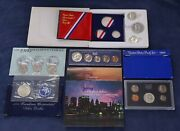 Variety Lot Of Us Mint Silver And Non-silver Commemorative Coins - Free Ship Us