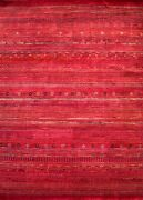 Hand-knotted Rug Carpet 8and0391x11and0393 Gabeh Mint Condition