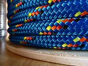 """3/4"""" X 100 Ft. Double Braidyacht Braid Polyester Rope.made In The Usa."""