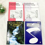 4 Piano Lesson Books For Beginners.