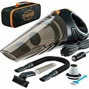 Portable Car Vacuum Cleaner High Power Corded Handheld Vacuum W/16 Foot Cable
