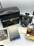 Vintage Polaroid Colorpack Ii Land Camera With Box And Manuals Instant Film