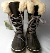 Shoes Women's Demali Insulated Tall Boots Bearpaw Color Earth Size 9 M