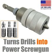 Drywall Screw Setter Dimpler Electric Drill To Screwgun Converter