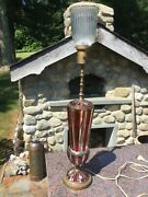 Tall Antique Mutual Sunset Lamp Company Table Lamp 4929