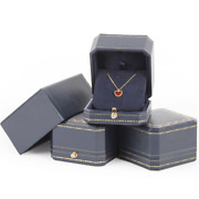 120x Wedding Pendant Rings Leather Box Earrings Trade Show Jewelry Display Boxes