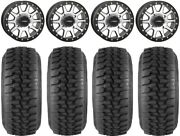 System 3 Sb-3 Machined 15 Wheels 30 Desert Series Tires Can-am Defender