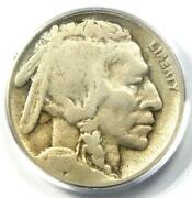 1918/7-d Buffalo Nickel 5c - Certified Pcgs G4 - Rare Overdate Variety Coin