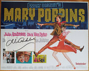 Julie Andrews Signed 16x12 Photo Display Mary Poppins Coa