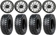 System 3 Sb-3 Machined 15 Wheels 33 Chicane Rx Tires Can-am Defender