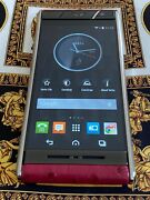 Vertu Aster Exotic Ostrich Leather Extremely Rare Sold Out Must Have Gsm