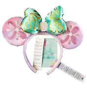 New Minnie Mouse The Main Attraction April Ear Headband Disney Its A Small World