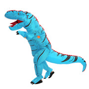 T-rex Inflatable Dinosaur Costume Adult Party Blow Up Suit Unisex Cosplay Outfit