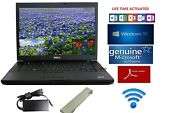 Dell Latitude Laptop/notebook Windows 10+word App+microsoft Security Lifetime