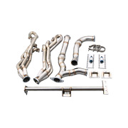 Cxracing Header Downpipe Ls Engine Mount 4l60 Trans For 94-04 Chevrolet S10 S-10
