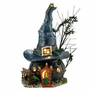 Department 56 Snow Village Halloween Toads And Frogs Witchcraft Haunt 4036591
