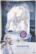 Disney Frozen 2 Elsa Musical Jewelry Box Snowflake Ring Color Changing Light