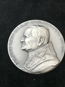 Knights Of Columbus Medal Restoration Of St Peterandrsquos Basilica 1985-1986 Silver